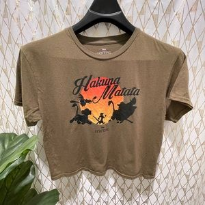 Crop top Lion King Shirt